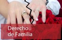Derecho de familia divorcios